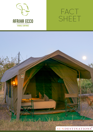 Afrika Ecco Mobile Safaris Fact Sheet