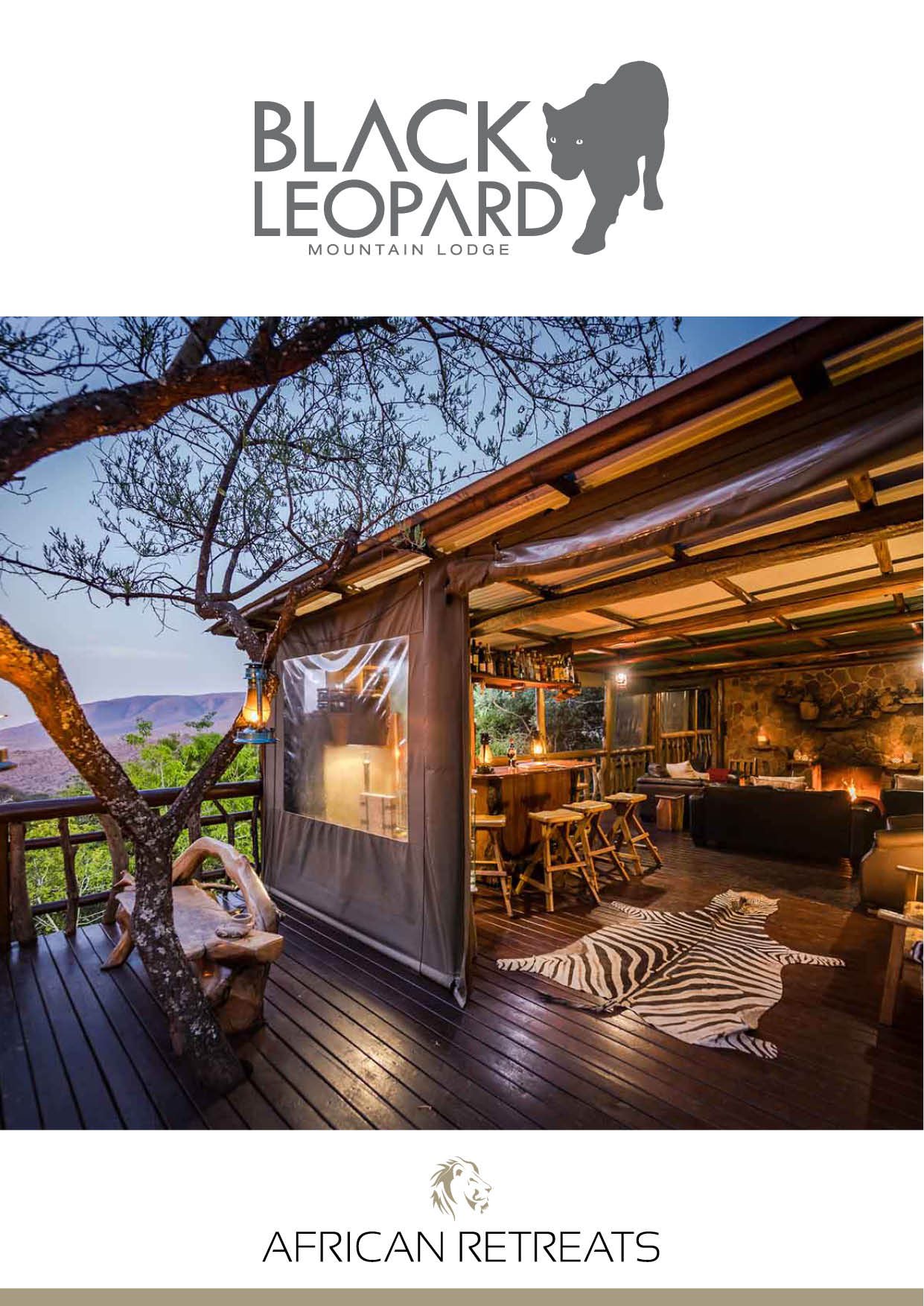 Black Leopard Mountain Lodge Wetu Online Brochure