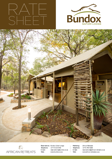 Bundox Safari Lodge Rates