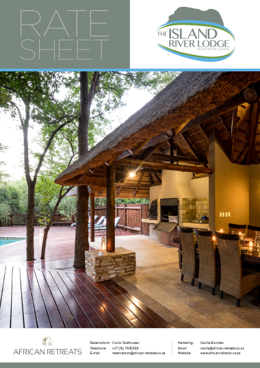 The Island River Lodge Rates