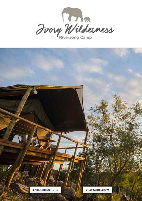 Ivory Wilderness Riversong Camp Wetu Online Brochure