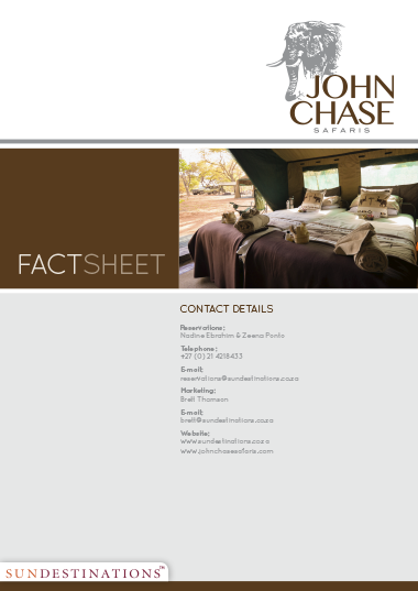 John Chase Safaris Fact Sheet