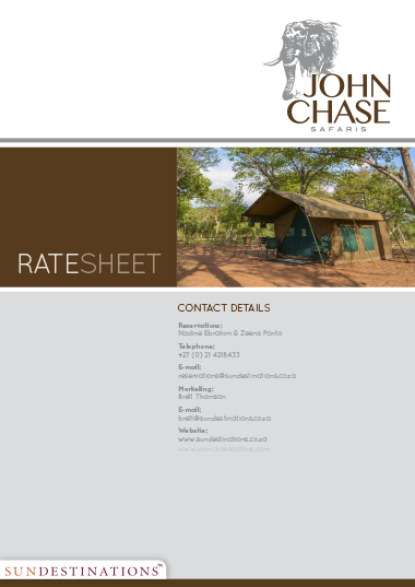 John Chase Safaris Rates