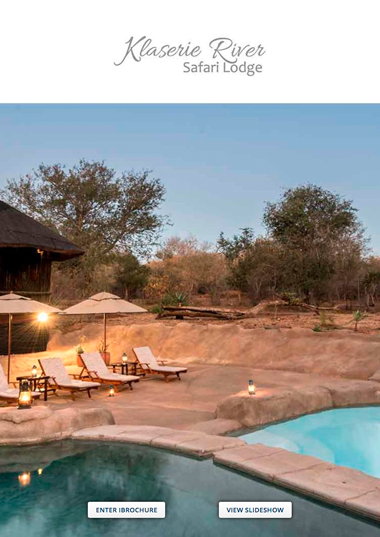 Klaserie River Safari Lodge Wetu Online Brochure
