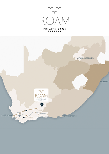 Map of Roam Karoo