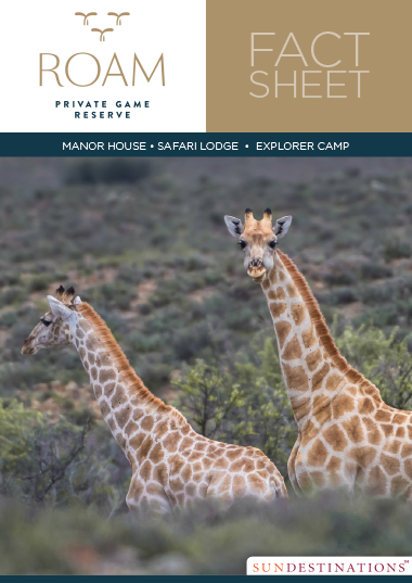 Roam Karoo Fact Sheet
