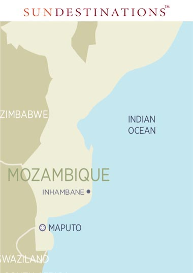 Sava Dunes Location with Mozambique