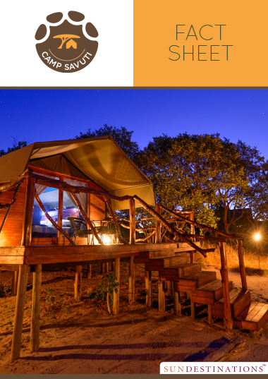 Camp Savuti Fact Sheet