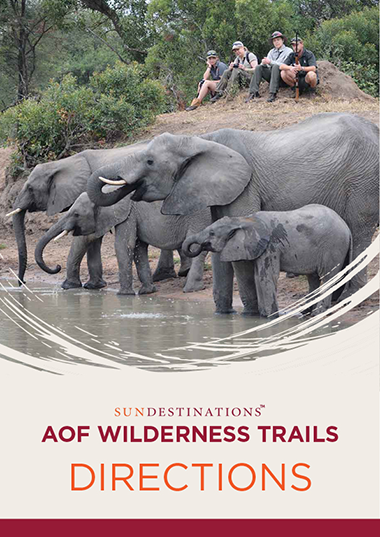 Africa on Foot Wilderness Trails Directions