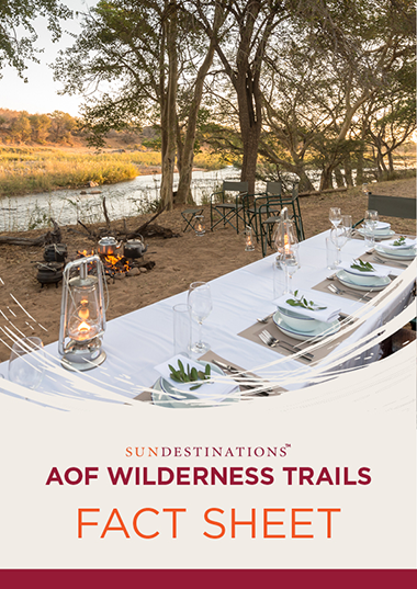 Africa on Foot Wilderness Trails Fact Sheet