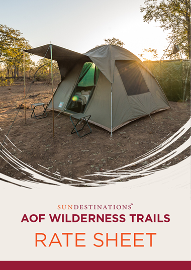 Africa on Foot Wilderness Trails Rates
