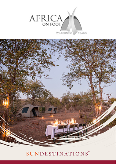 Africa on Foot Wilderness Trails Wetu Online Brochure