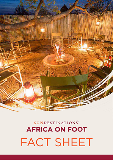 Africa on Foot Fact Sheet