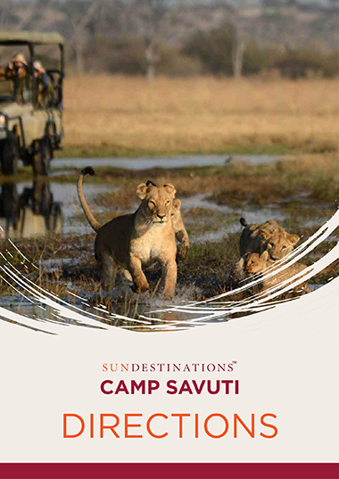 Camp Savuti Directions