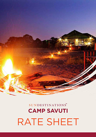 Camp Savuti Rates