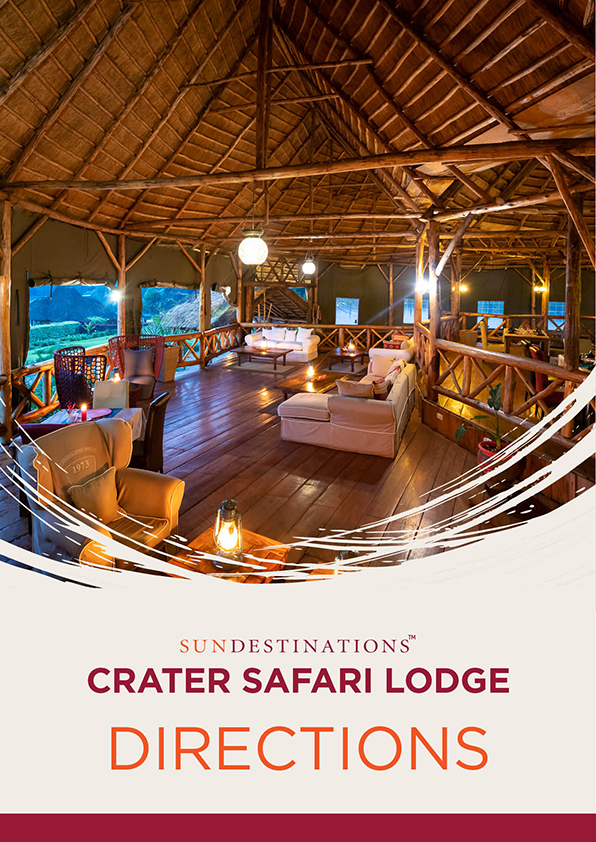 Crater Safari Lodge Directions