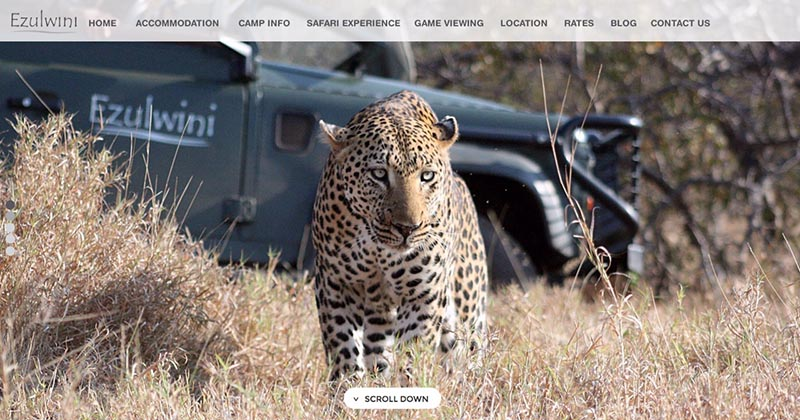 Ezulwini River Lodge Website