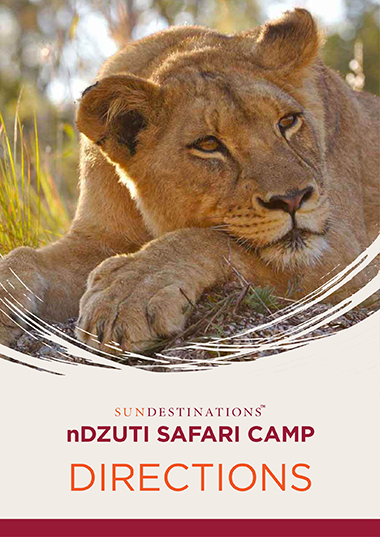 nDzuti Safari Camp Directions