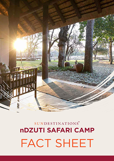 nDzuti Safari Camp Fact Sheet
