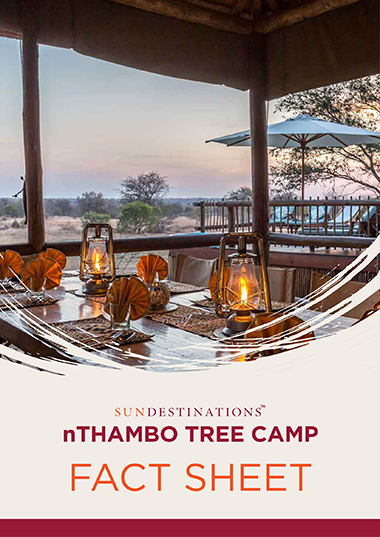 nThambo Tree Camp Fact Sheet