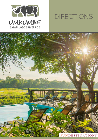 Umkumbe Safari Lodge Directions