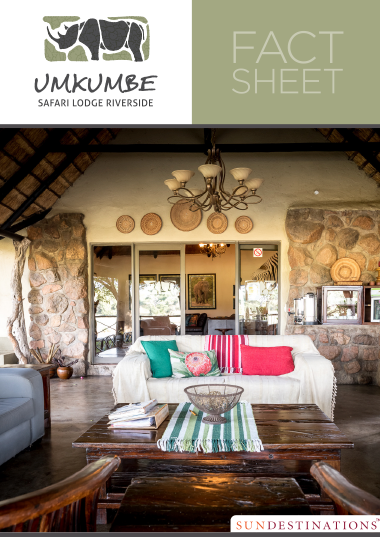 Umkumbe Safari Lodge Fact Sheet