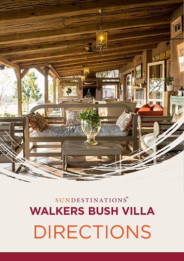 Walkers Bush Villa Directions