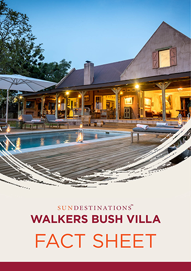 Walkers Bush Villa Fact Sheet