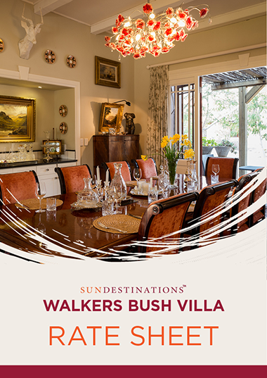 Walkers Bush Villa Rates