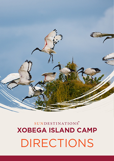 Xobega Island Camp Directions