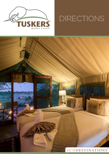 Tuskers Bush Camp Directions