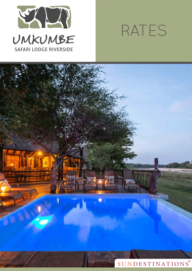 Umkumbe Safari Lodge Rates
