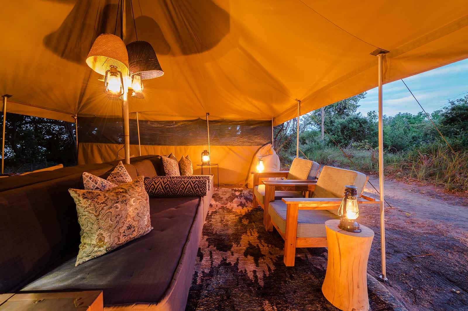 Camp Info Xobega Island Camp